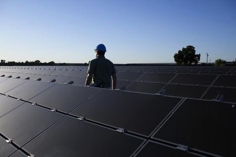 Les Etats-Unis ont doublé leur parc photovoltaïque en 2011 | Le groupe EDF | Scoop.it