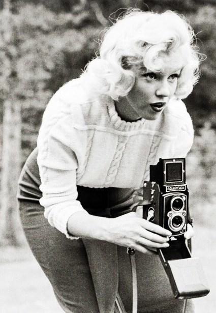 Marilyn Monroe Photographed by John Vachon 1953 ...   L'actualité de l'argentique   Scoop.it