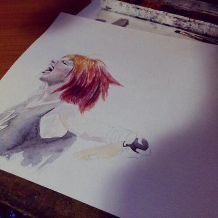 Twitter / ParamoreKaskus: Hayley williams #fanart #drawing. ... | Art* | Scoop.it