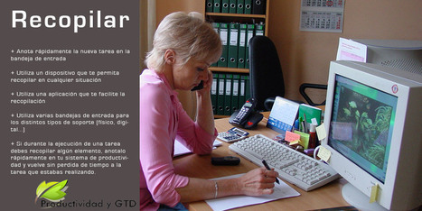 Curso de GTD: 1 - Recopilar | Productividad Personal | Scoop.it
