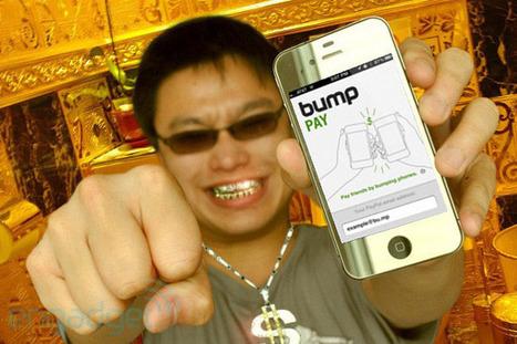 Bump Pay lets you tap a friend for cash | APPY HOUR | Scoop.it