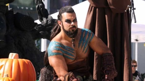 Khal Drogo Invades Blizzard Entertainment Halloween Contest | VI Geek Zone (GZ) | Scoop.it