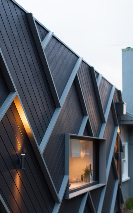 Herringbone house in Melbourne | What Surrounds You | Scoop.it