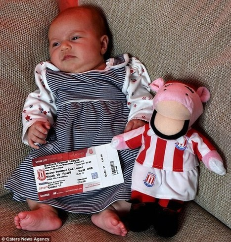 Stoke City forced new mum to buy £14 ticket for FIVE-WEEK-OLD daughter | Workplace Health and Safety | Scoop.it