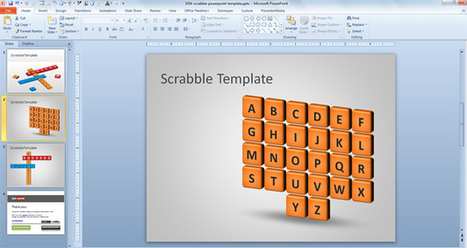 Scrabble PowerPoint Template | HIV | Scoop.it