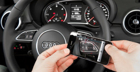 Augmented Reality App Puts Audi A3 Owner's Manual in 3-D - Doug Newcomb | Future is Orange - No its Mobile | Scoop.it