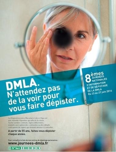 DMLA : 5 journées dédiées au dépistage et à l'information | Optique lunetterie | Scoop.it