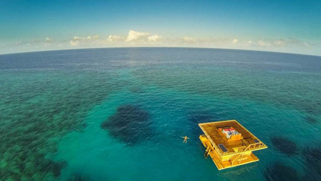 This Floating Hotel Room Comes with an Underwater Fish-Peeping Deck | Need a place for a weekend ? Here it is ! | Scoop.it