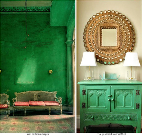 Color | Nature | Tree | Natural | Blue | Green | Designing Interiors | Scoop.it