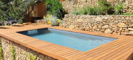 Reportage photo Piscinelle - Une piscine rectangulaire à Ensues la Redonne | Piscine & Design | Scoop.it