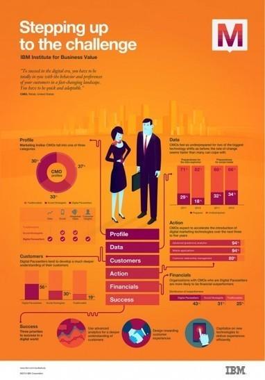 Les directions marketing et la performance financière en une infographie - InformatiqueNews.fr | MARKETING - BUSINESS DEVELOPMENT - CUSTOMER RELATIONSHIP MANAGEMENT | Scoop.it