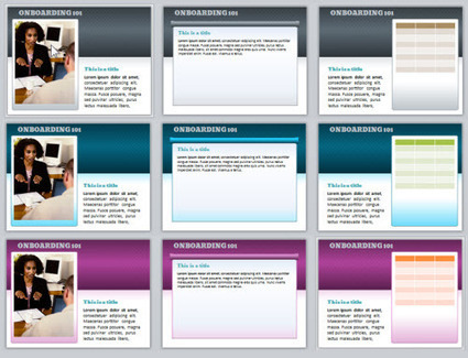 Here's a Free PowerPoint Template & Font » The Rapid eLearning Blog | Technology for classrooms | Scoop.it