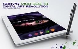 Digital Art Revolution: The Sony VAIO Duo 13   ArtSketch.Org :: Digital Art :: Conceptual Art :: Character, Environment and Hardware Design ::   Digital   Scoop.it