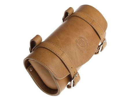 BLB Leather Saddle Bag - Camel - Vintage Velo | Vintage Velo News | Scoop.it