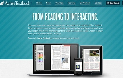 ActiveTextbook - transforme um pdf num ebook interativo | Bibliotecas Escolares | Scoop.it