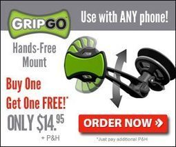 GripGo Dashboard Mount Cell Phone | Electronic Gadgets and Gizmos | Scoop.it