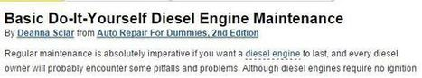 Buying from Used Truck Dealers: Guide to Maintaining Diesel Engines | Seaport Auto | Scoop.it