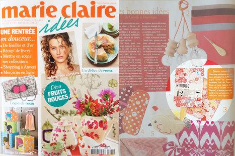 Le papier DiY déco Kimono - Marie Claire Idées   Devis Peinture - Entreprise Peinture-Déco   Scoop.it