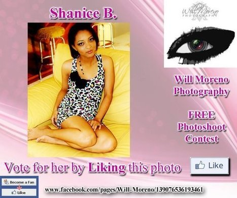 Shanice B. - Contestant to win a FREE Photoshoot with Will Moreno | Belize in Photos and Videos | Scoop.it