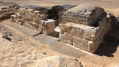 La tombe de Khentkaous III, une découverte exceptionnelle | Merveilles - Marvels | Scoop.it
