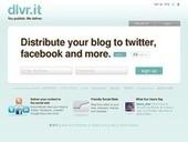 Dlvr.it Diffuser votre veille sur les reseaux sociaux | Les outils de la veille | E-apprentissage | Scoop.it