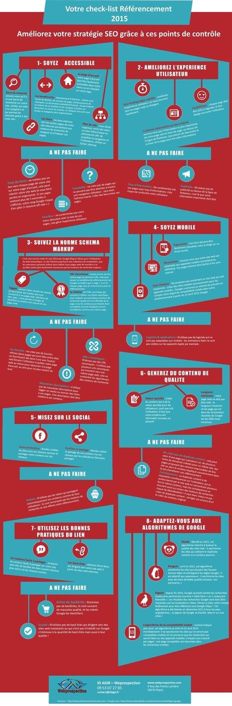 Comment améliorer votre stratégie SEO : La checklist référencement 2015 | Entrepreneurs du Web | Scoop.it