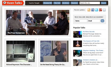 Curated Video Collection Of Talks, Lectures, Presentations: Keen Talks | 287mwm | Scoop.it