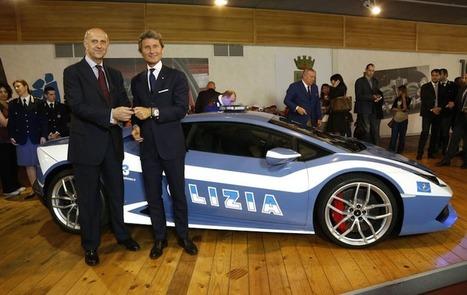 Quand Lamborghini fournit une Huracán à la police italienne | sans sucre ajouté !!!! ;) | Scoop.it