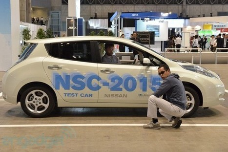 Nissan NSC-2015 self-driving car with LTE and smartphone connectivity (test-ride with video) | Robolution Capital | Scoop.it