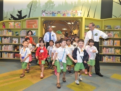 World's first green library opens its doors in Singapore | School Library Design | Scoop.it