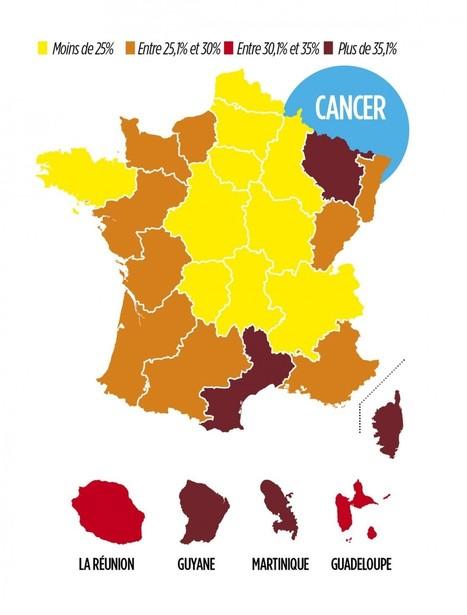 Cancers, diabète, AVC... les maladies région par région | Toxique, soyons vigilant ! | Scoop.it