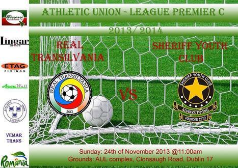 Anunț pentru suporterii Real Transilvania FC | Români în Irlanda | Scoop.it