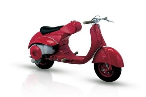 Vespa celebrates its 70th birthday by stepping into the future | 12 Business Marketing | Scoop.it