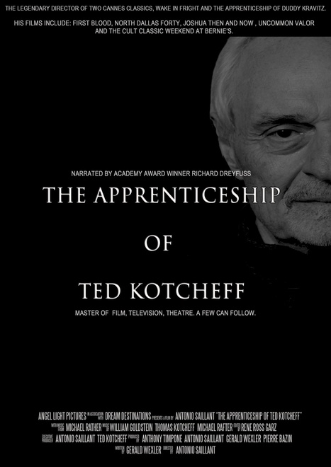 Angel Light Pictures to Produce 'THE APPRENTICESHIP OF TED KOTCHEFF' | Entertainment News ALPR | Scoop.it