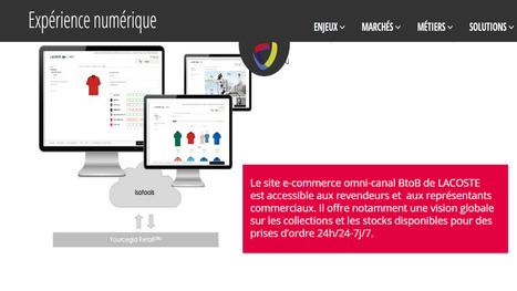 @Cegidretailfr le site ecommerce omni-canal de Lacoste , vision globale sur les collections et les stocks #cegidconnections @visiativ | Croissance et références du groupe VISIATIV | Scoop.it