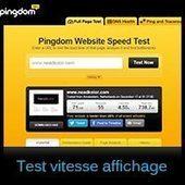 Testez la vitesse d'affichage de votre site avec Pingdom | Neadkolor.com | Articles du graphiste Nead Kolor | Scoop.it