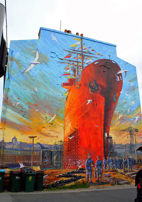 From the Russian Web... Street Art Throughout the World... | World of Street & Outdoor Arts | Scoop.it