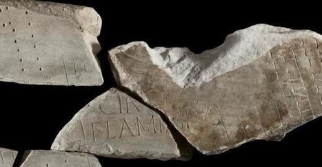 Arqueólogos recomponen el rompecabezas del catastro de la Roma imperial | LVDVS CHIRONIS 3.0 | Scoop.it