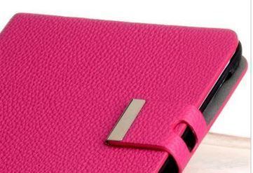 Pink soft leather iPad mini case | Apple iPhone and iPad news | Scoop.it