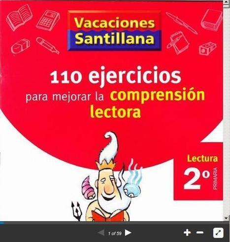 Comprensión Lectora - 110 Ejercicios para Primaria   Presentación   desdeelpasillo   Scoop.it