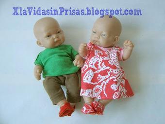 -X la Vida sin Prisas-: Ropa de bebés-muñeco | Tejidos | Scoop.it