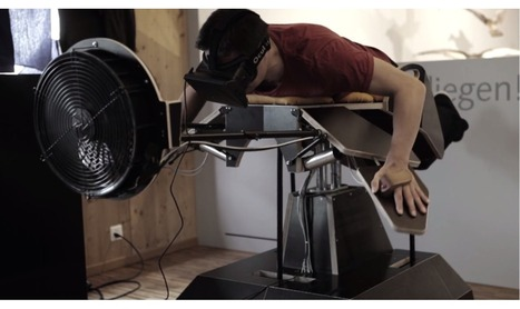 Become a bird with the Oculus Rift and a pair of wooden wings | Virtual Worlds Corner | Scoop.it