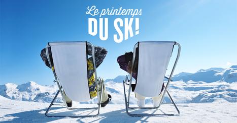 Le printemps du ski - Du ski, oui... mais pas que ! | Neige et Granite | Scoop.it