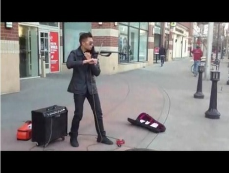 A Street Musician's Performance Using A Loop Pedal | WhiteLighters | Audiogasm | Scoop.it
