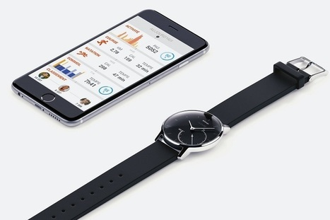 Withings Reveals Activite Steel Fitness Tracker | Wearable Tech and the Internet of Things (Iot) | Scoop.it