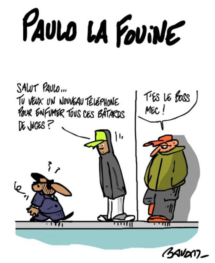 Paulo la fouine et les bâtards de juges | Baie d'humour | Scoop.it