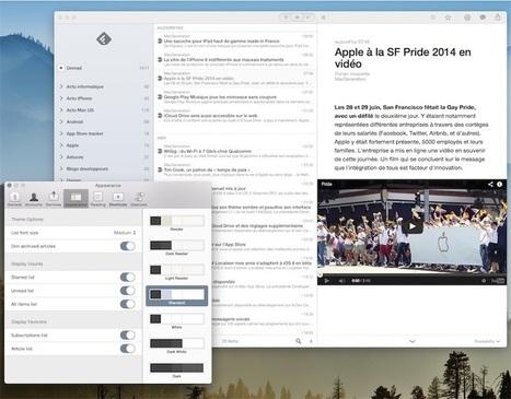 Reeder corrige des bugs sur sa version MacOS XYosemite | RSS Circus : veille stratégique, intelligence économique, curation, publication, Web 2.0 | Scoop.it