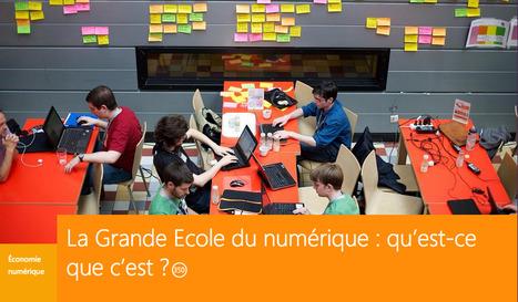 RSLN | La Grande Ecole du numérique : QU'EST-CE QUE C'EST ? | Machines Pensantes | Scoop.it