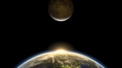 La Luna podría haber nacido de una explosión del núcleo de la Tierra | Educación | Scoop.it