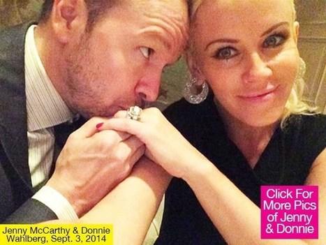 Jenny McCarthy & Donnie Wahlberg: See Their Romantic Wedding Album - Hollywood Life | Weddings | Scoop.it